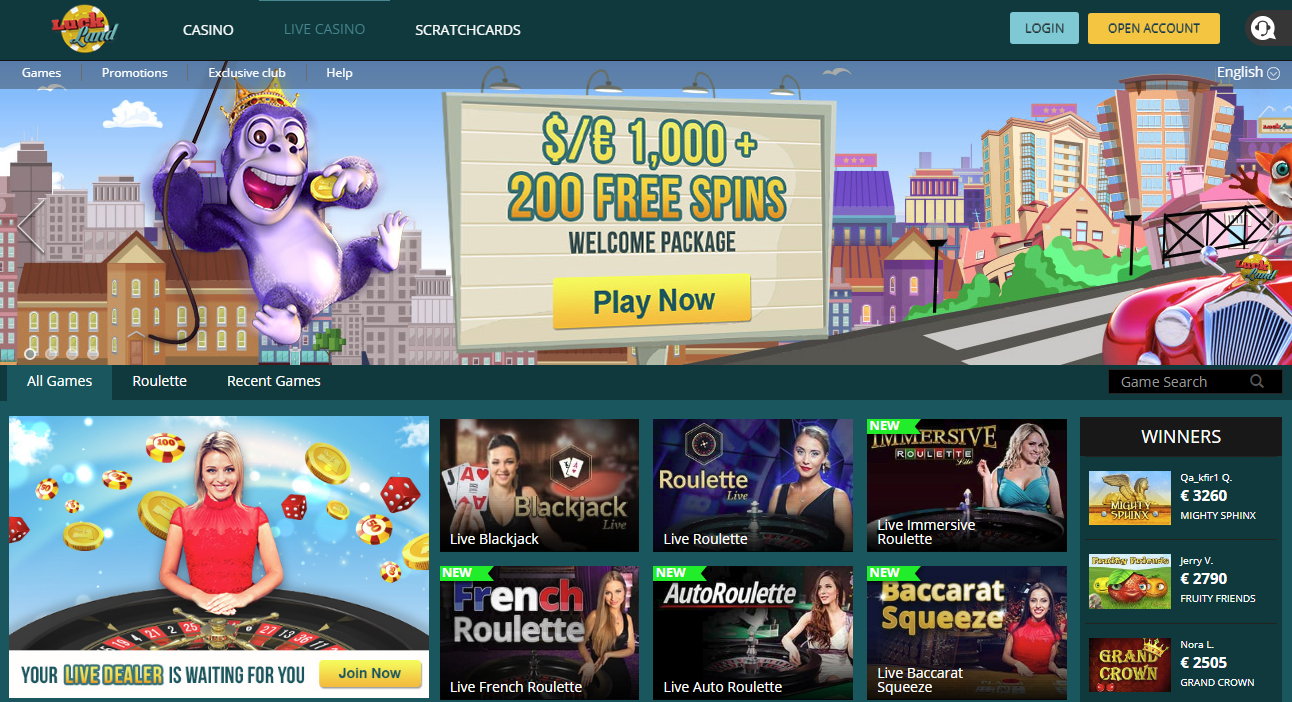 Luckland Roulette Casino